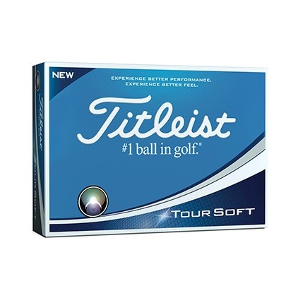 Titleist Tour Soft balle de golf imprimée
