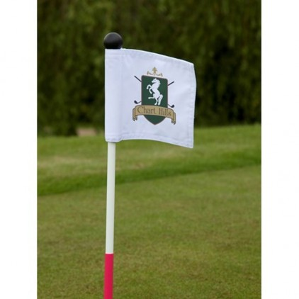 Drapeau Putting Green logoté