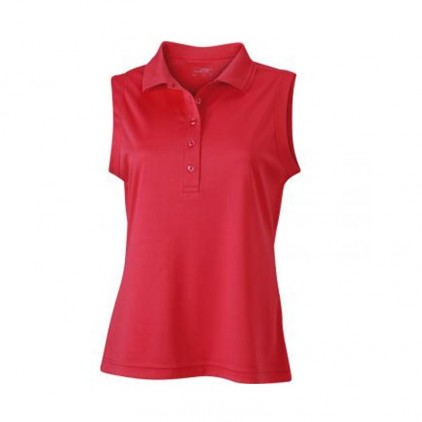 Polo respirant femme personnalisable